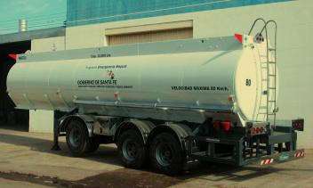Semirremolque tanque agua