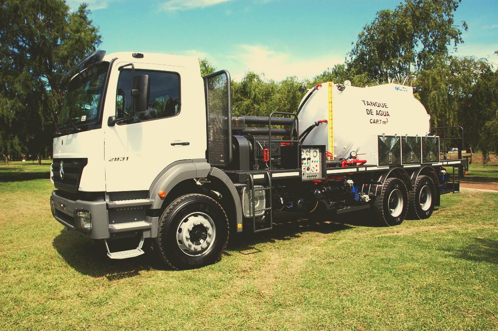 motobomba-camion